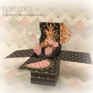 Step by step pop up box card tutorial