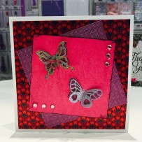 Dovecraft butterfly die and First Edition Storyteller papers