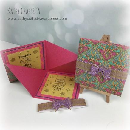 Folded card 2a