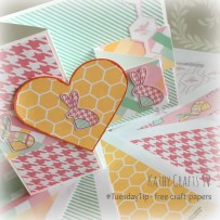 Free craft papers - Easter 3