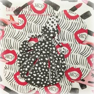Kiss and Makeup papercraft collection gift bag