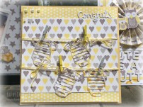 Baby Steps clothes line card