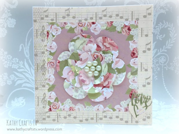 Blooms with Floral Notes simply creative papers
