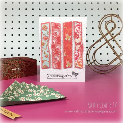 Cards made with the First Edition Floral Fusion paper pad