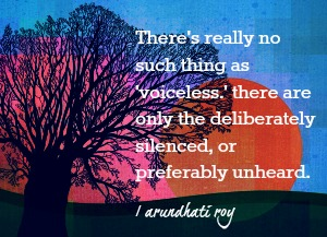 theres no such thing as voiceless
