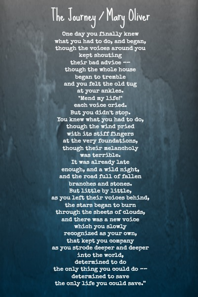the journey poem mary oliver