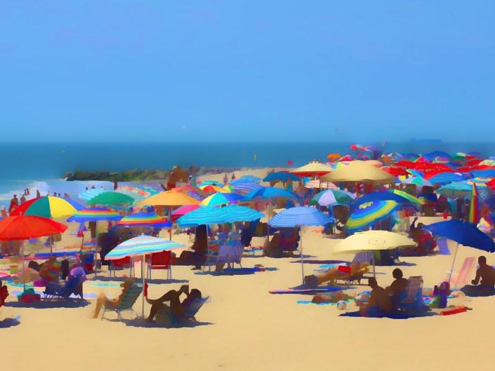 Cape May Beach Scene #1