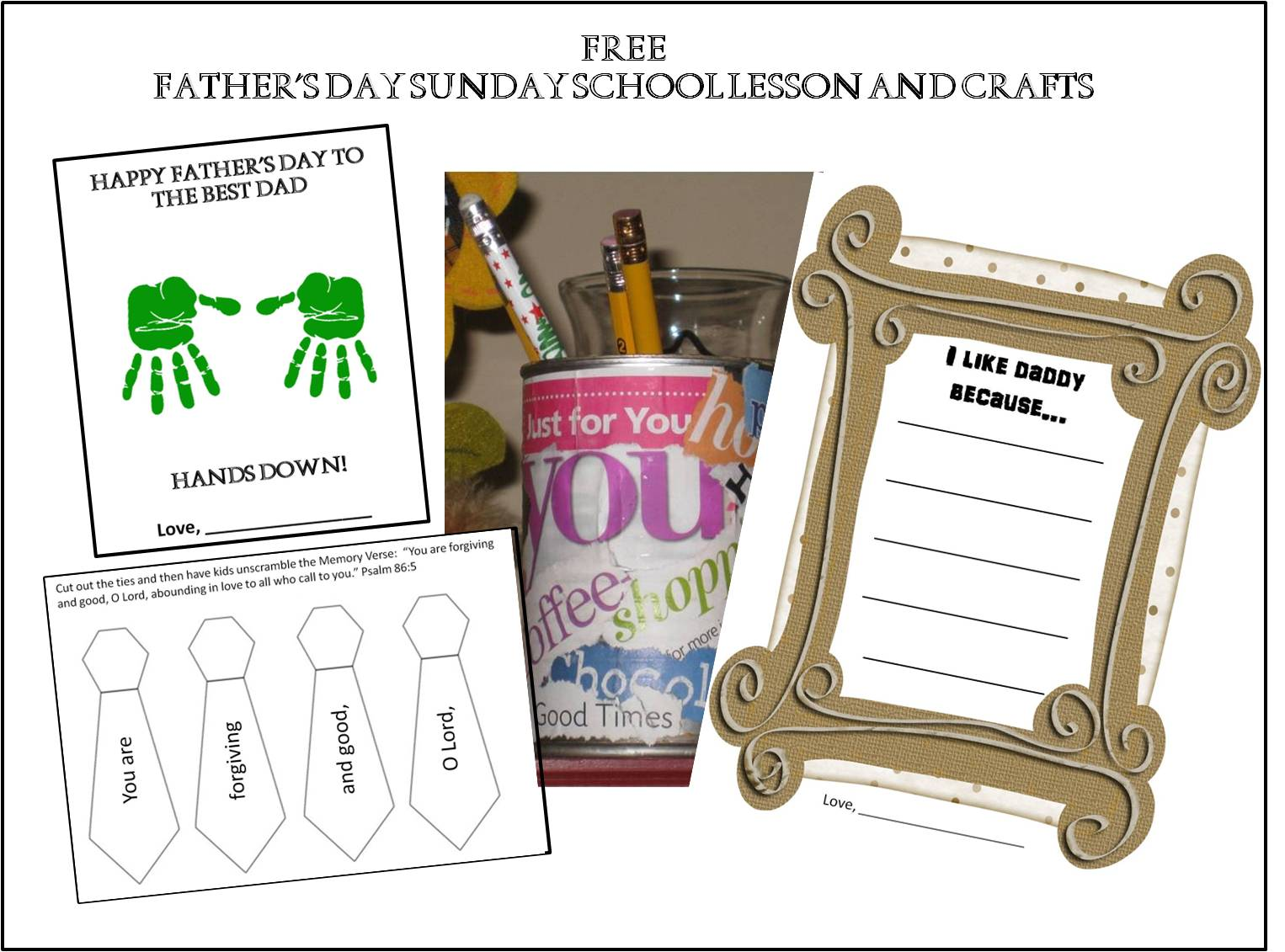 Bible Lessons And Crafts