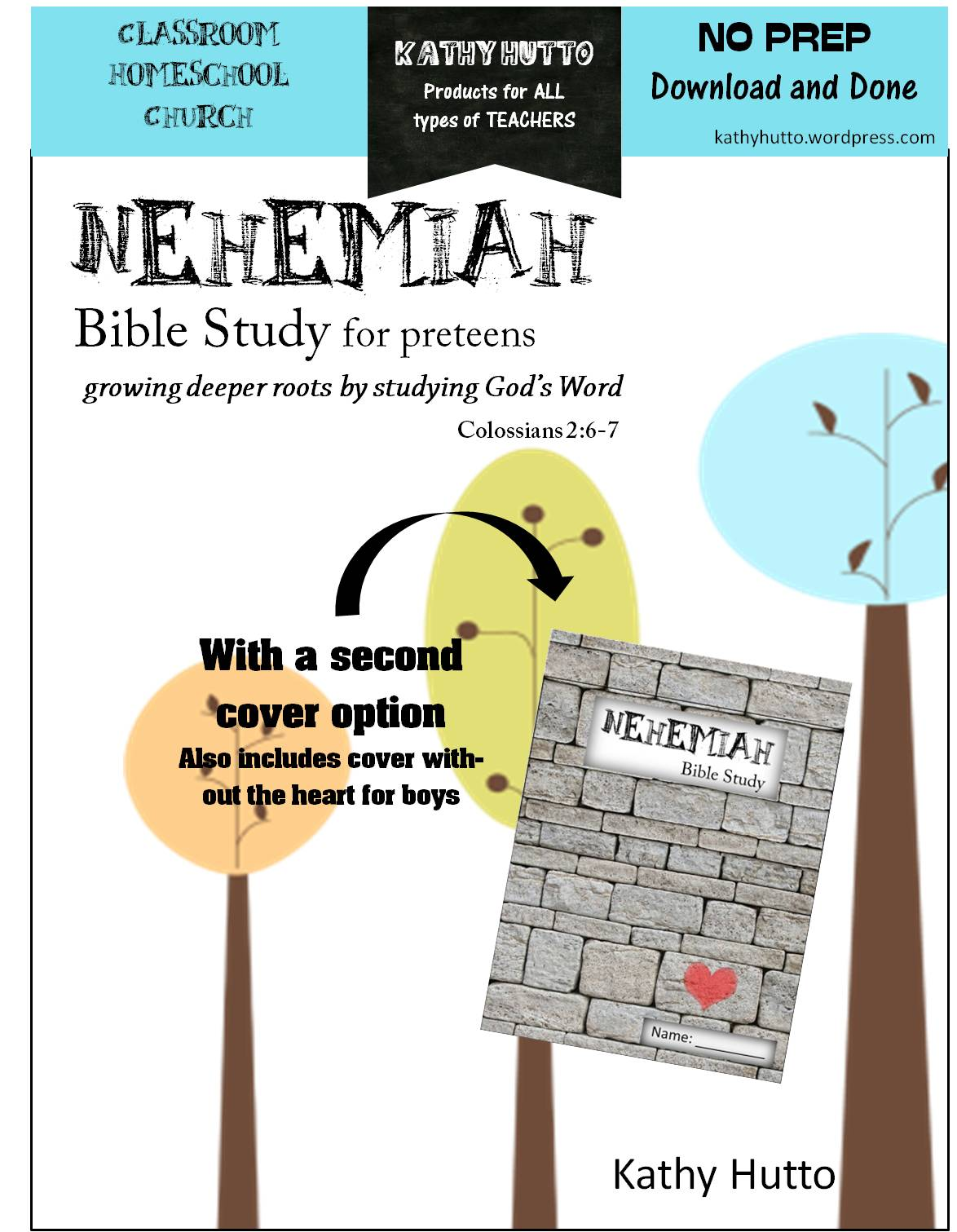 Free Bible Study For Kids Nehemiah Kathy Hutto