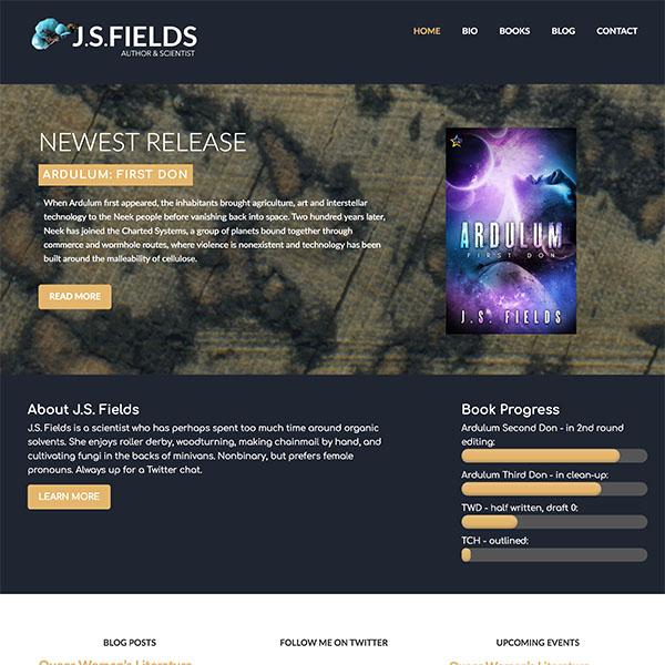 J.S. Fields Website