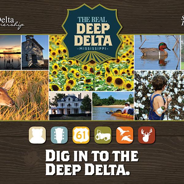 Deep Delta Tabletop Display