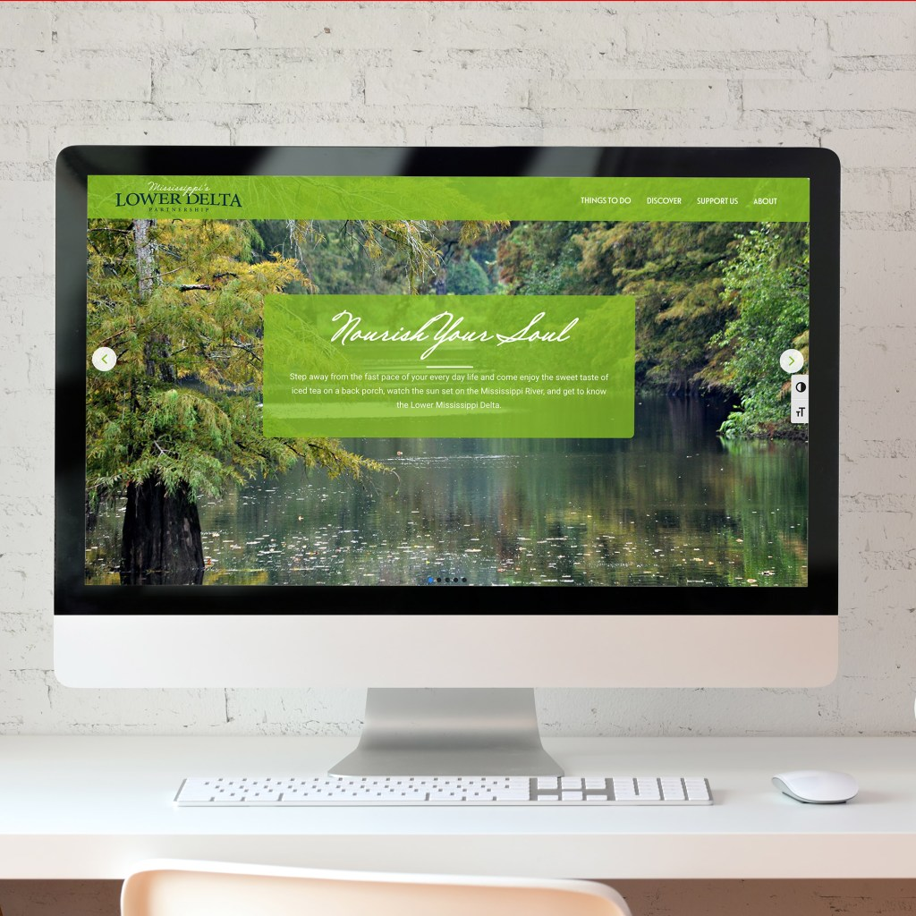 Mississippi's Lower Delta Partnership Website