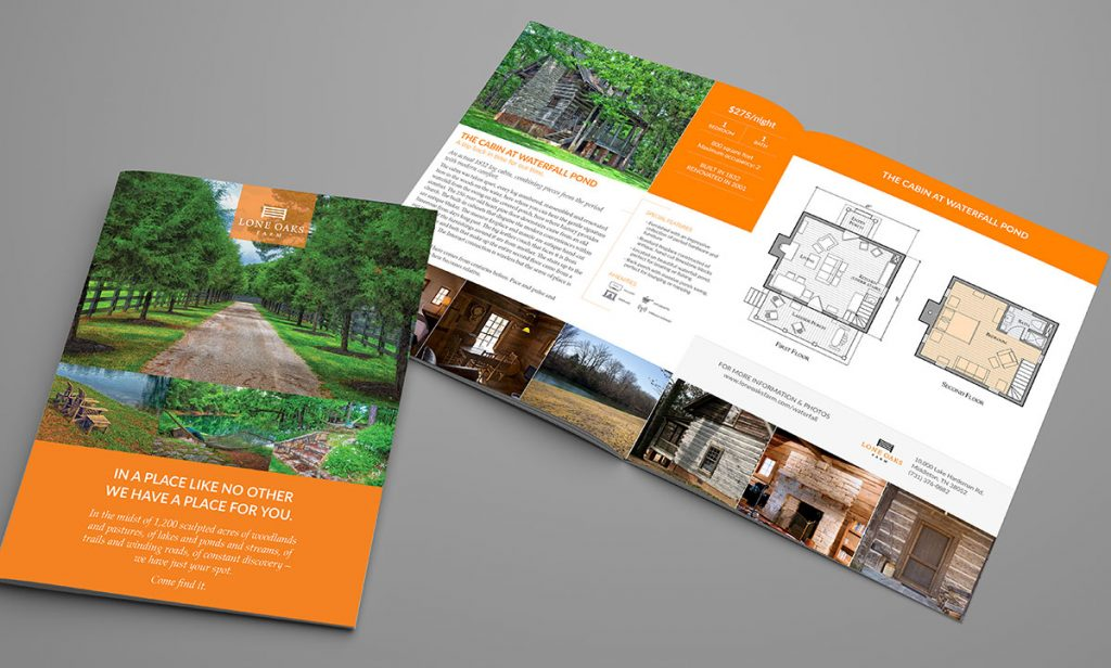 Lone Oaks Lodging Booklet