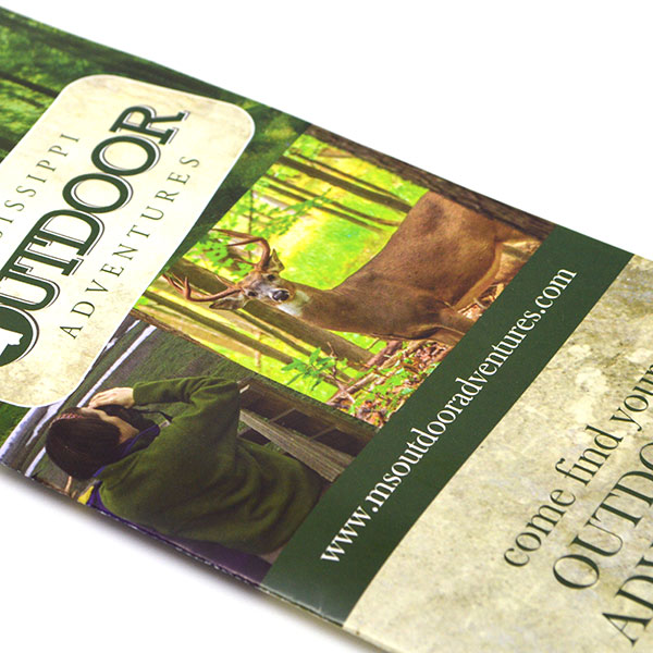 Brochure for Mississippi Outdoor Adventures