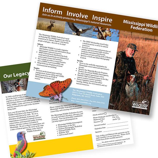 Mississippi Wildlife Federation Brochure