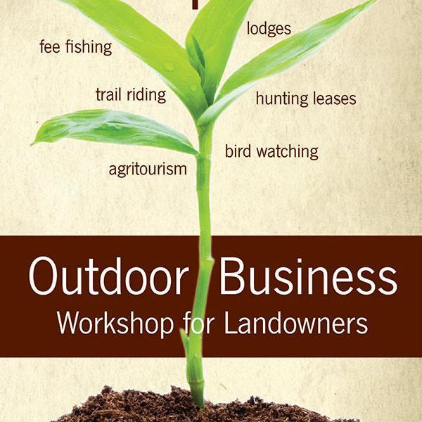 Workshop Brochure for Natural Resource Enterprises Program