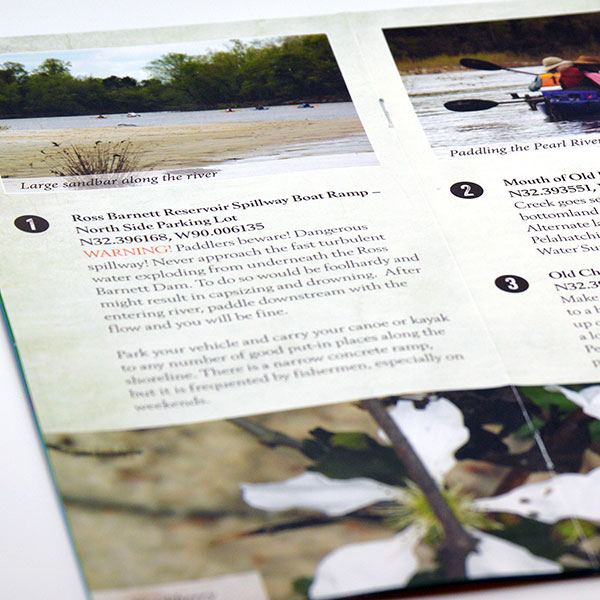 Pearl River Paddling Trail Brochure