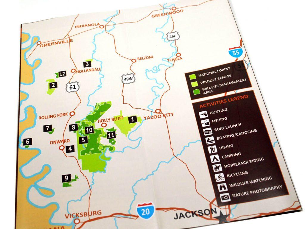 Mississippi's South Delta Public Lands brochure