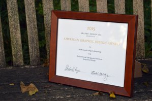 Kathy Jacobs Design & Marketing Receives a 2015 American Graphic Design Award