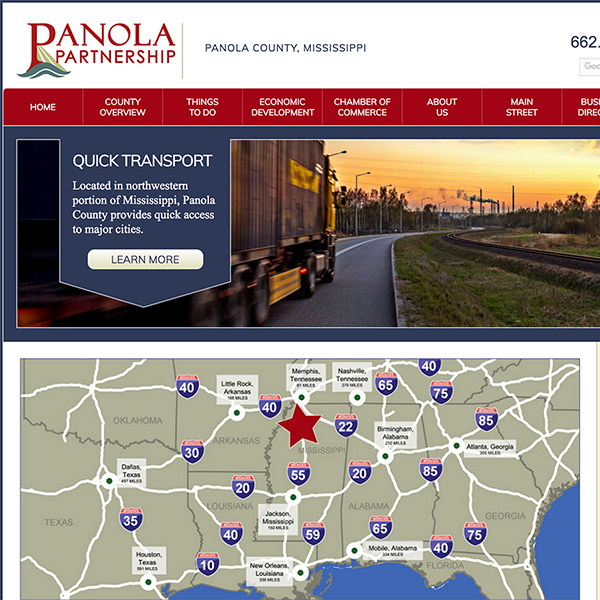 Panola Partnership Website