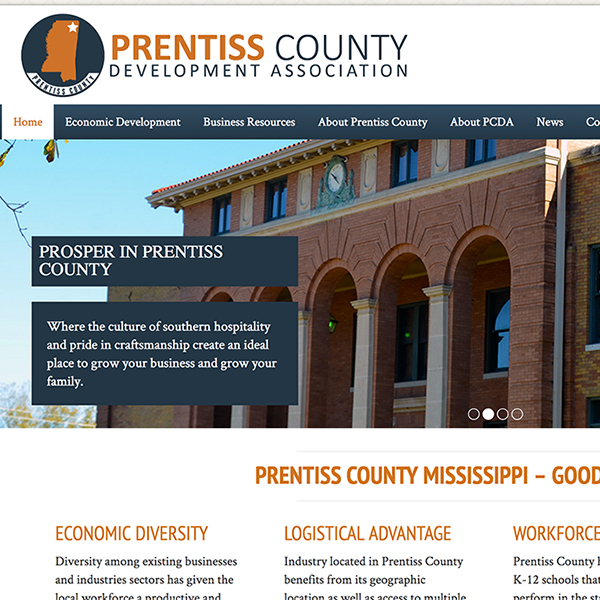Prentiss County Website
