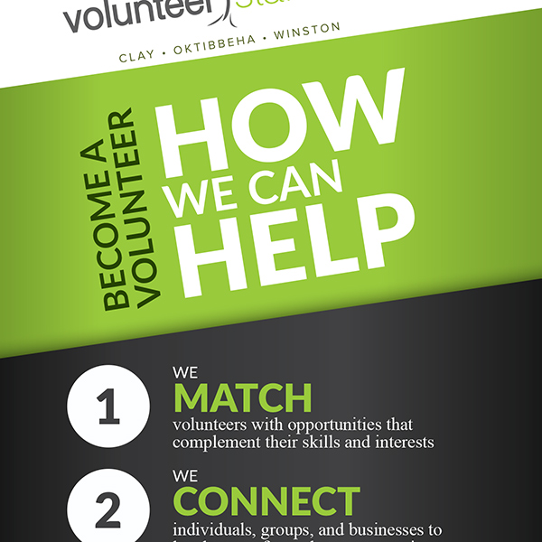 Rack Card for Volunteer Starkville