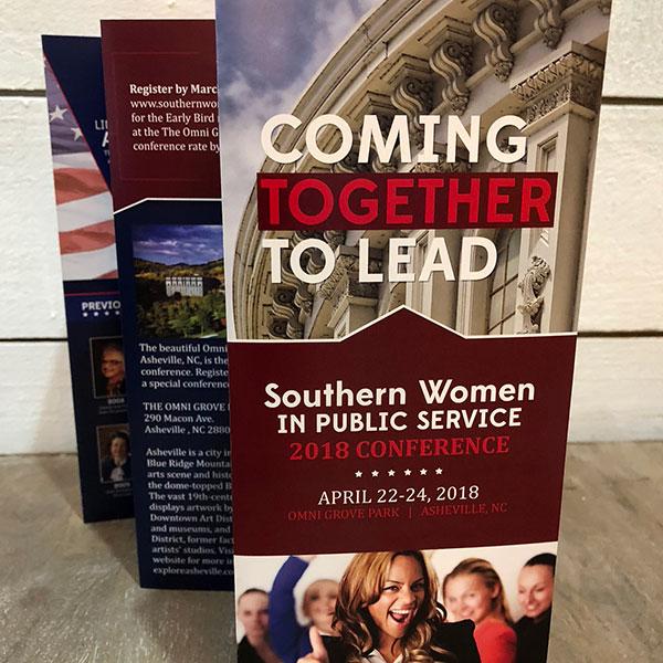 Southern Women in Public Service Brochure