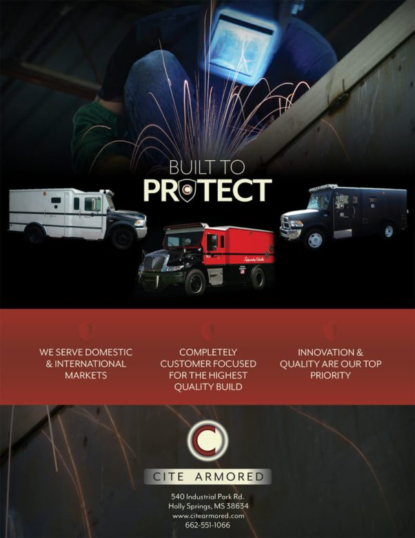 Program ad for Cite Armored