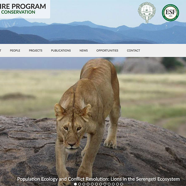 Camp Fire Program in Wildlife Conservation Website