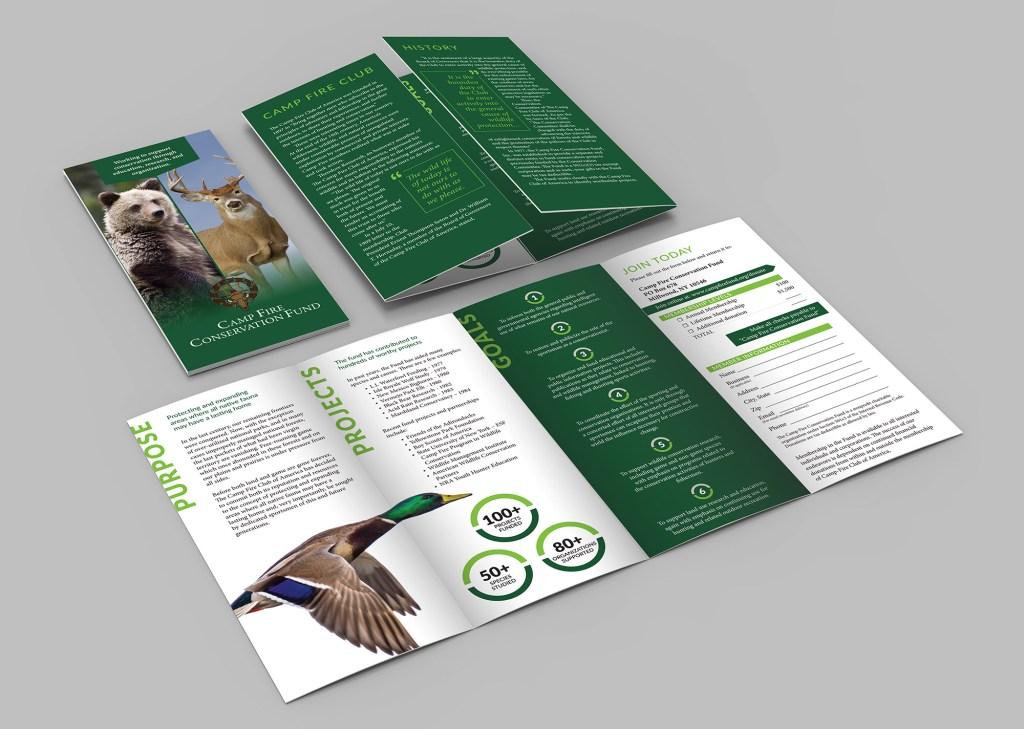 Camp Fire Conservation Fund Member Brochure