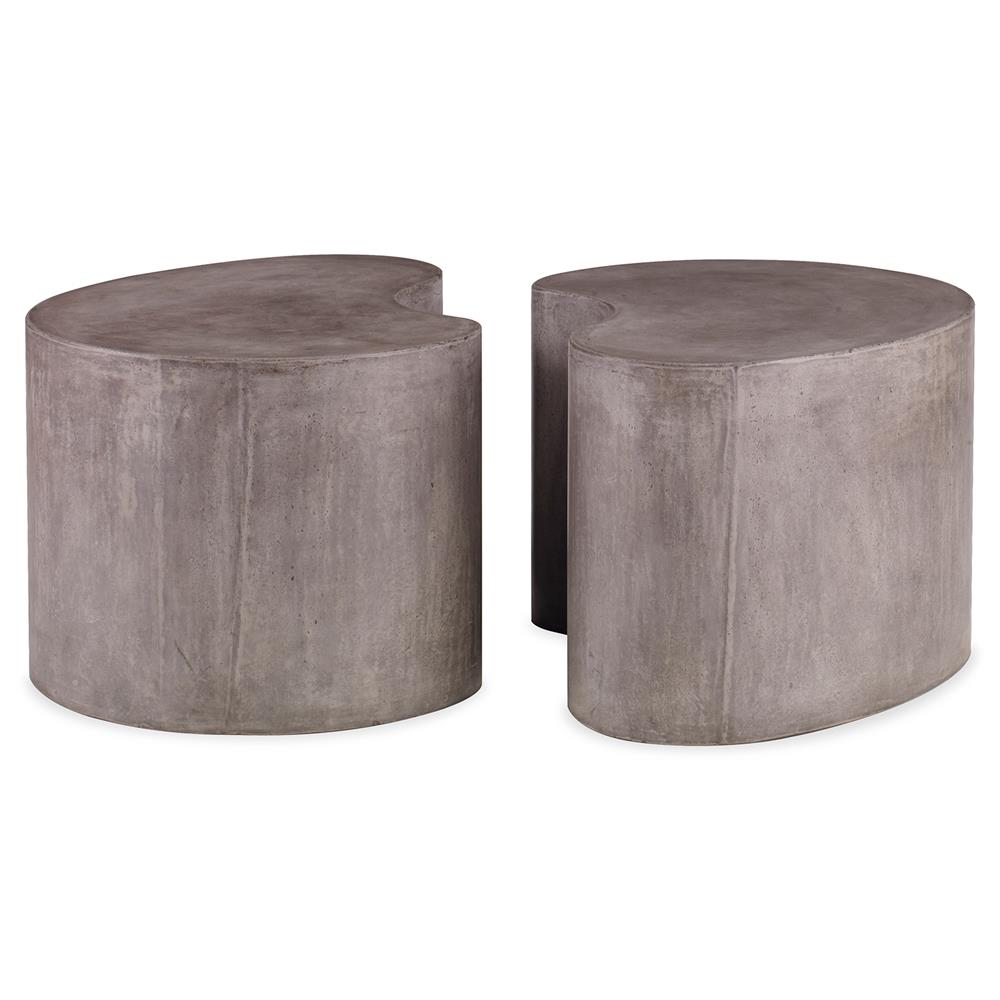 Mr Brown Figaro Industrial Modern Stone Outdoor Coffee Table