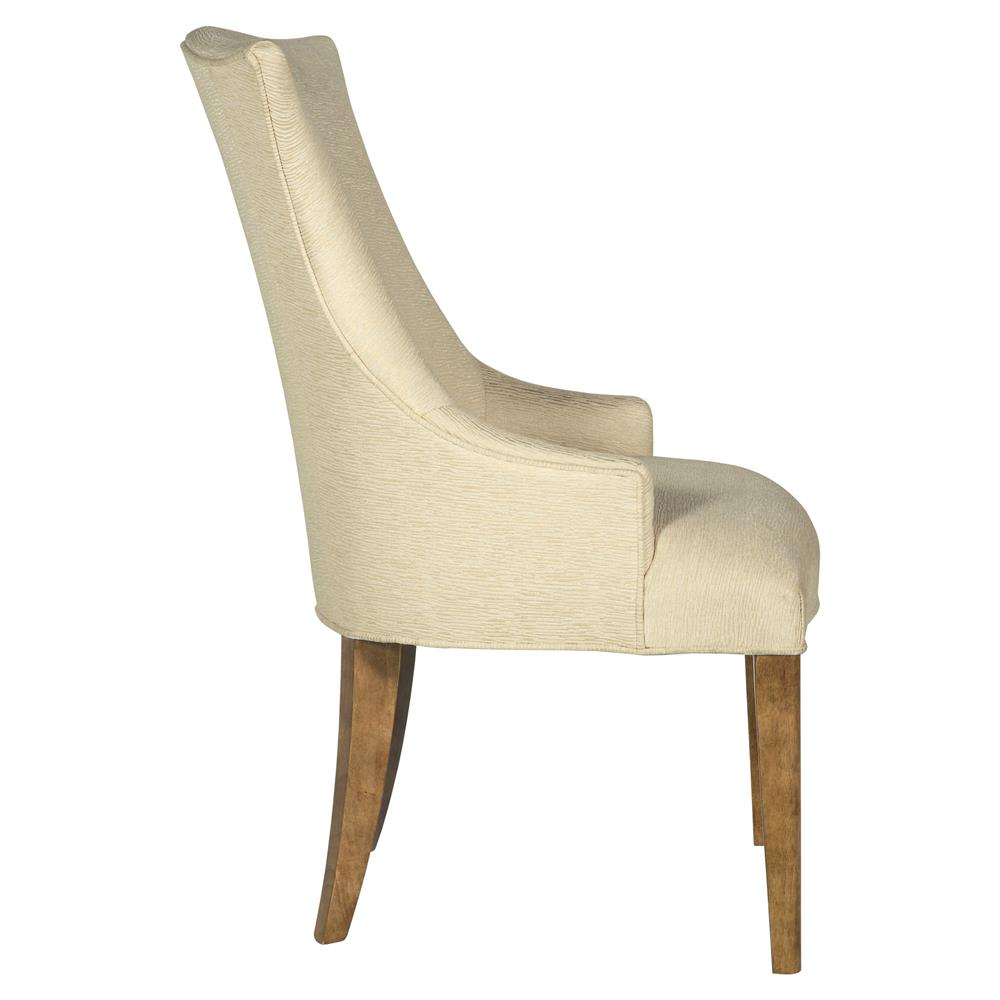 Modern Wing Chair Mercer Upholstered Ivory Modern Wing Chair