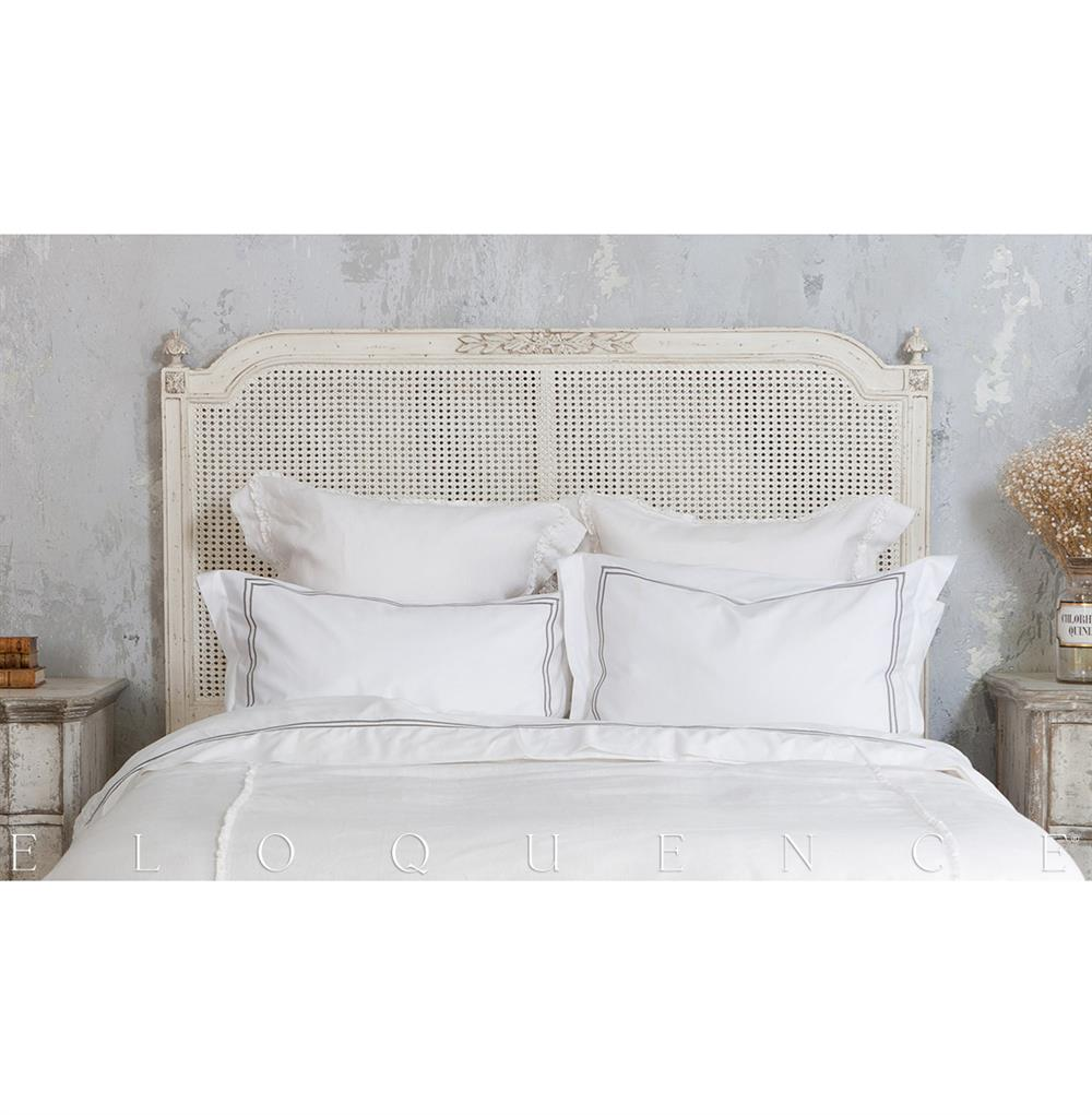 Eloquence Blanka Cane King Headboard In Antique White