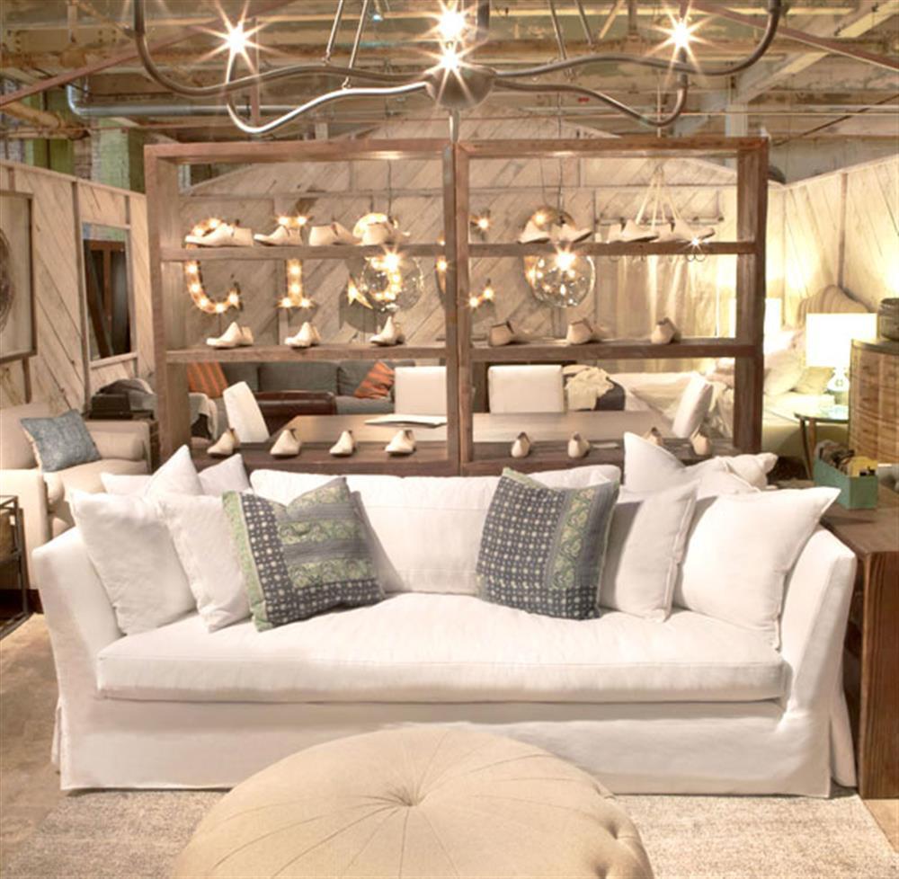 cisco seda sofa velvet light grey brothers denim white cotton coastal style ...