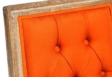 Louis Xvi Chair Orange