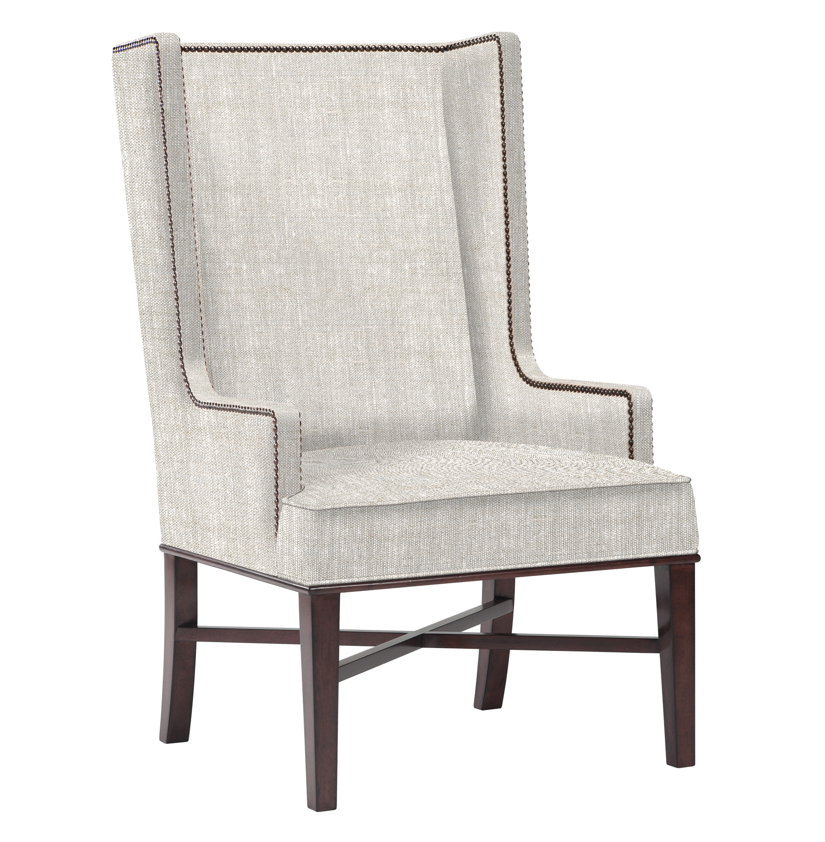 Wingback Dining Chairs Jacqueline Hostess Wing Back Occasional Dining Arm Chair