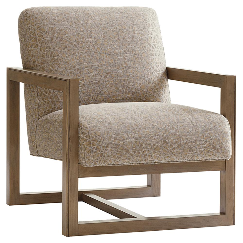 Upholstered Living Room Chairs Lexington Harrison Modern Grey Upholstered Taupe Grey Wood Living Room Chair