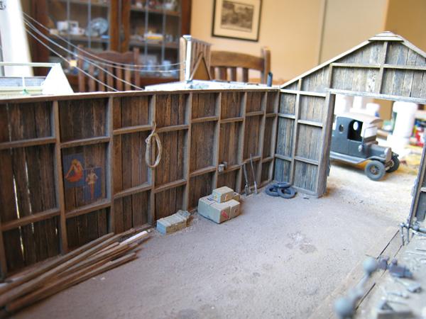 Garage barn interior