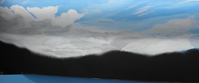 Upper level clouds