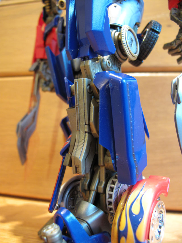Optimus legs