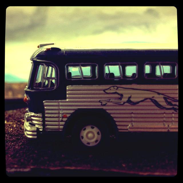 iphone greyhound bus