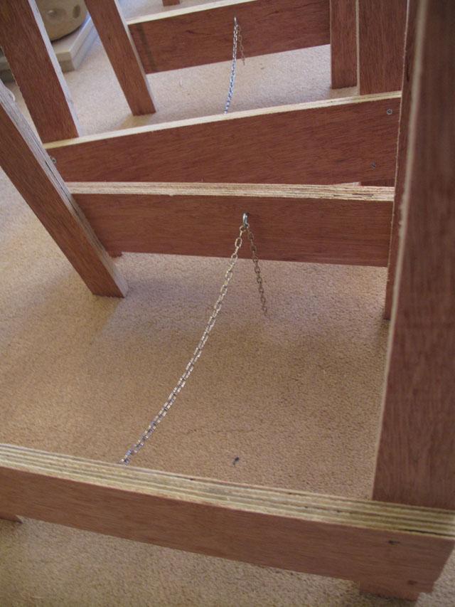 Module leg chain