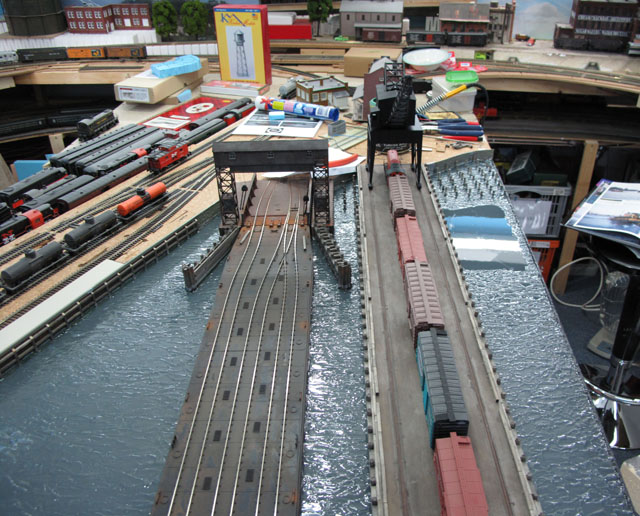 Car float and coal pier
