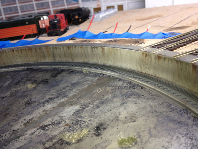 Turntable rim