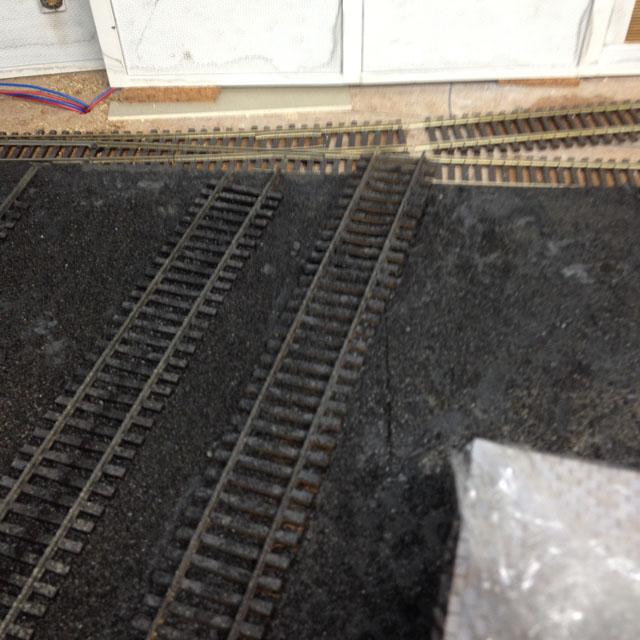 Bumpy track