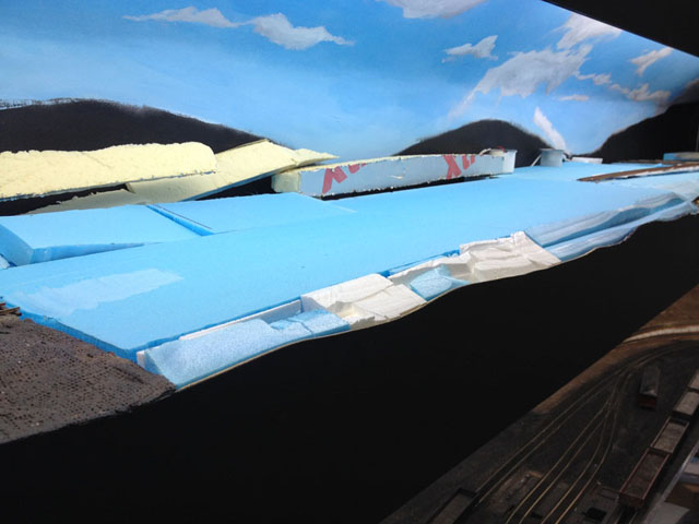 Foam upper baseboard
