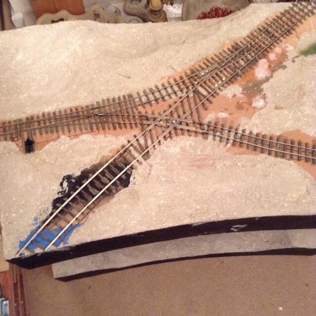 Final track work