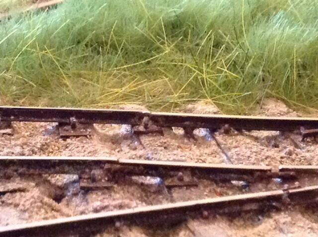 Transition rail
