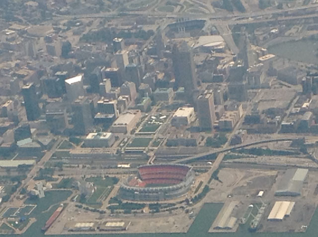 Cleveland by air