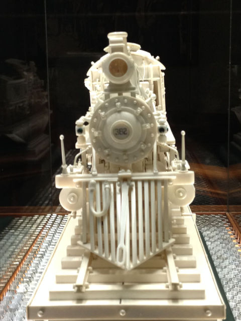 Warther carved engine